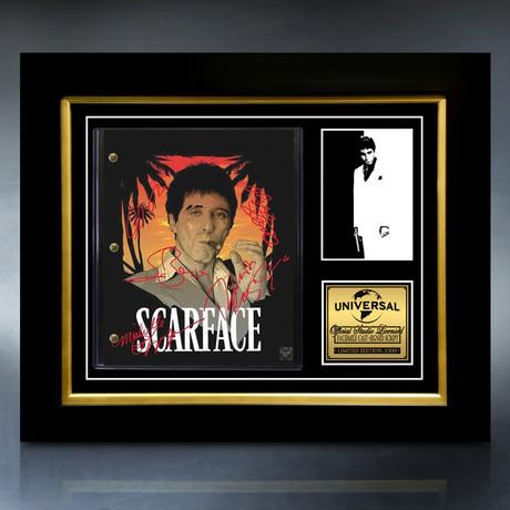 Scarface Script // Limited Edition // Custom Frame