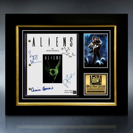 Aliens Script // Limited Edition // Custom Frame