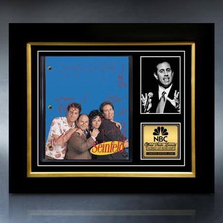 Seinfeld Script // Limited Edition // Custom Frame