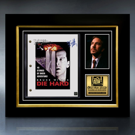 Die Hard Script // Limited Edition // Custom Frame