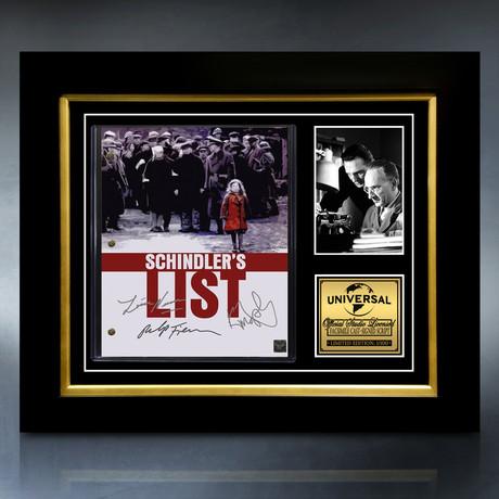 Schindler's List Script // Limited Edition // Custom Frame