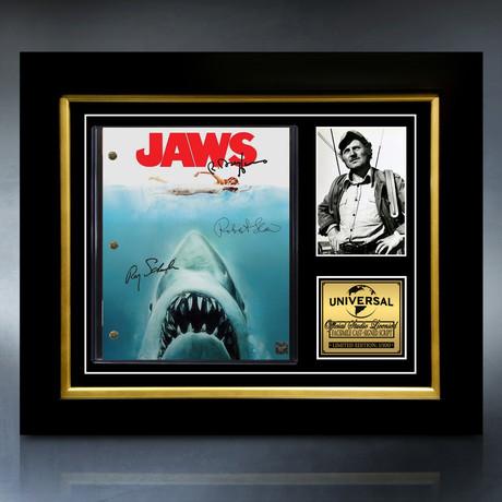 Jaws Script // Limited Edition // Custom Frame