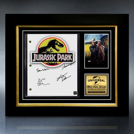 Jurassic Park Script // Limited Edition // Custom Frame