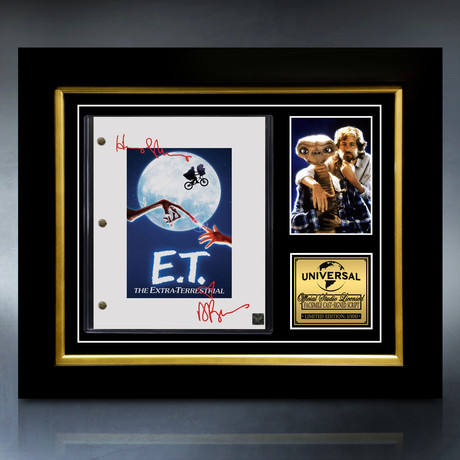 E.T Script // Limited Edition // Custom Frame