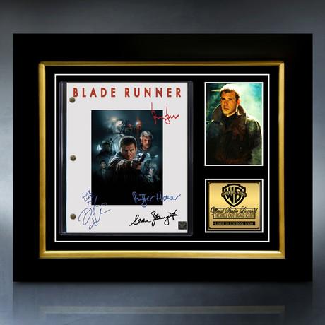 Blade Runner Script // Limited Edition // Custom Frame