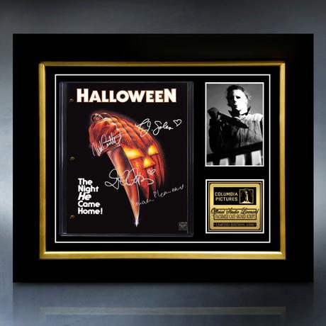 Halloween 1978 Script // Limited Edition // Custom Frame