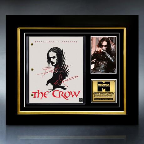 The Crow Script // Limited Edition // Custom Frame