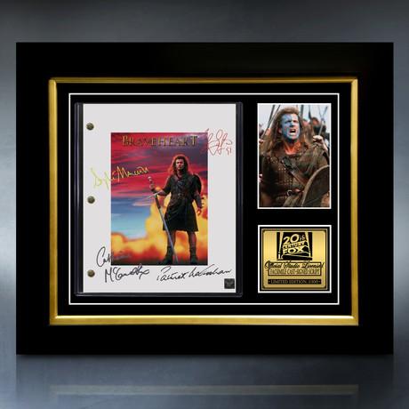 Braveheart Script // Limited Edition // Custom Frame