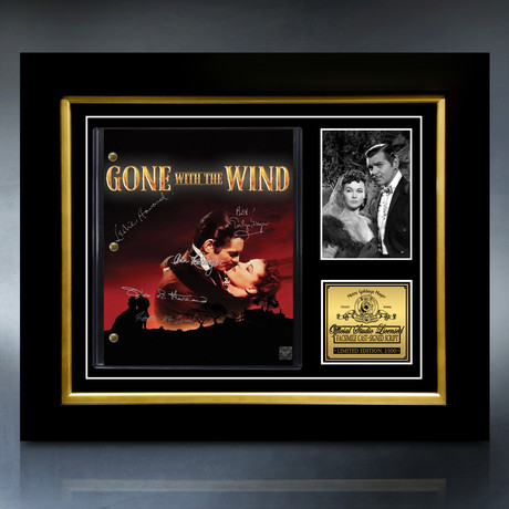 Gone With The Wind Script // Limited Edition // Custom Frame