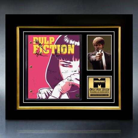 Pulp Fiction Script // Limited Edition // Custom Frame