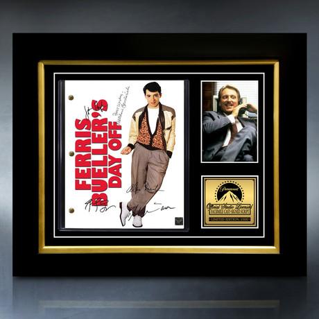 Ferris Bueller's Day Off Script // Limited Edition // Custom Frame