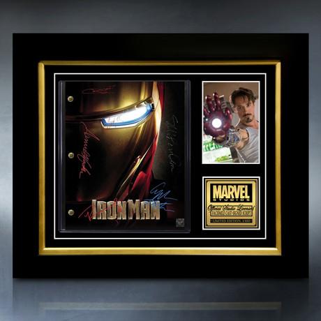 Iron Man Script // Limited Edition // Custom Frame