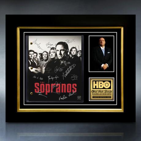 The Sopranos Script // Limited Edition // Custom Frame