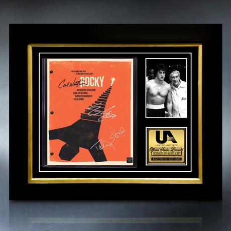 Rocky Script // Limited Edition // Custom Frame