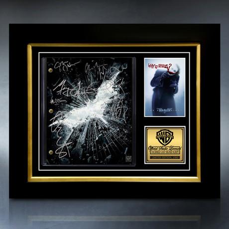 Batman The Dark Knight Script // Limited Edition // Custom Frame