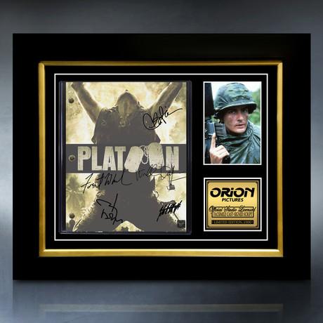 Platoon Script // Limited Edition // Custom Frame