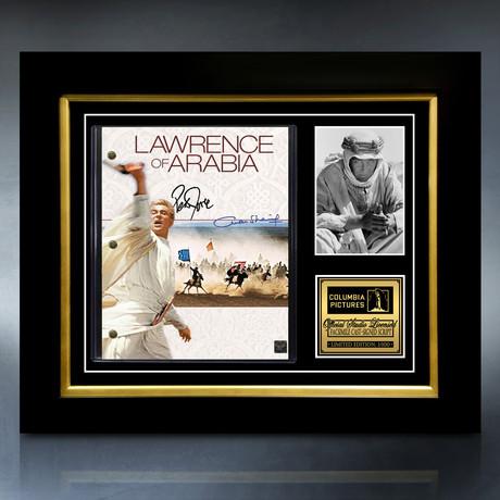 Lawrence Of Arabia Script // Limited Edition // Custom Frame