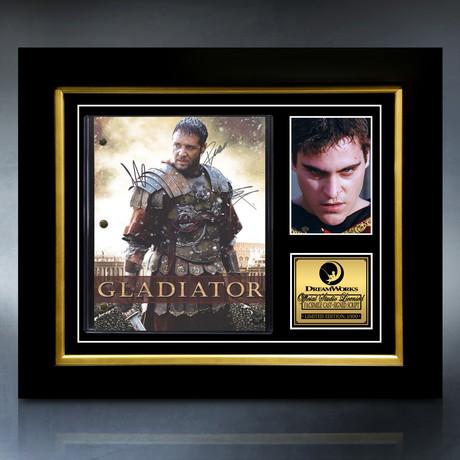Gladiator Script // Limited Edition // Custom Frame