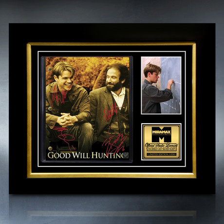 Good Will Hunting Script // Limited Edition // Custom Frame