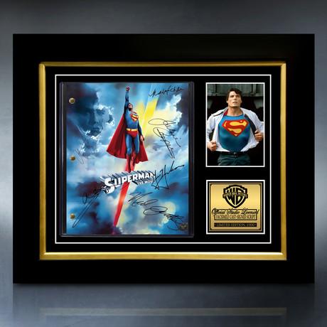 Superman 1978 Script // Limited Edition // Custom Frame
