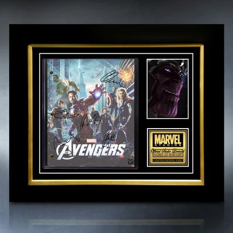 The Avengers Script // Limited Edition // Custom Frame