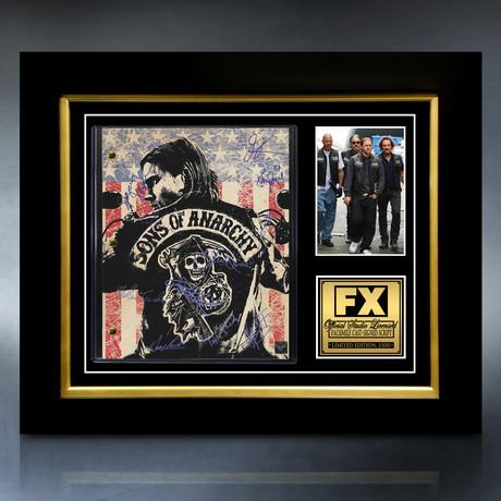 Sons Of Anarchy Script // Limited Edition // Custom Frame