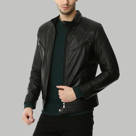 Maurizio Leather Jacket // Black (XS)