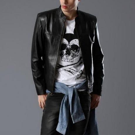 Antonio Leather Jacket // Black (XS)