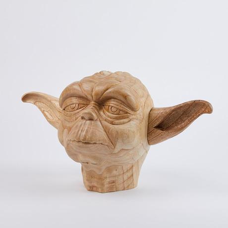 Yoda Lifesize Head