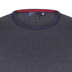 Jase Pullover // Navy + Gray (S)