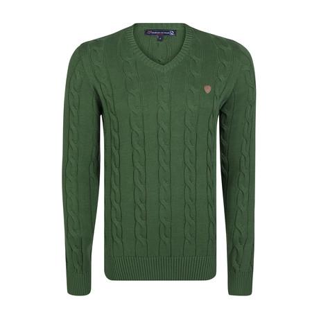 Castiel Pullover // Green (XS)