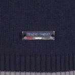 Anson Pullover // Navy + Gray + Ecru (XL)