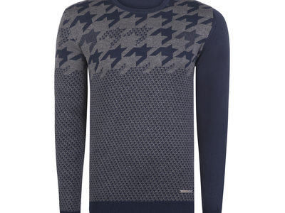 Photo of Giorgio di Mare Essential Fall Layering Sterling Pullover // Navy + Gray (S) by Touch Of Modern