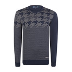 Sterling Pullover // Navy + Gray (XL)