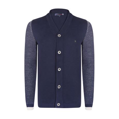 Julio Knitwear Jacket // Navy (S)