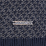 Sterling Pullover // Navy + Gray (XS)