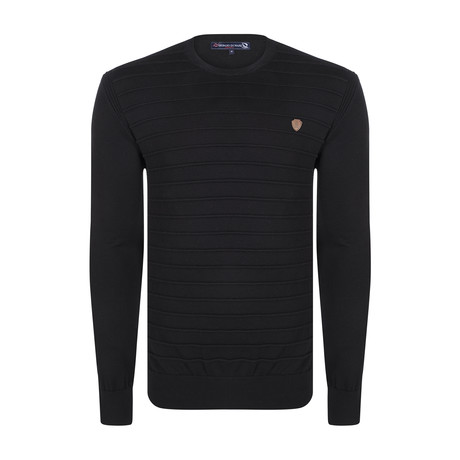 Finch Pullover // Black (XS)
