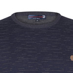 Princeton Pullover // Navy + Gray (XS)
