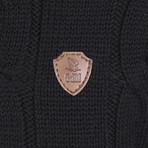 Forrest Pullover // Black (L)