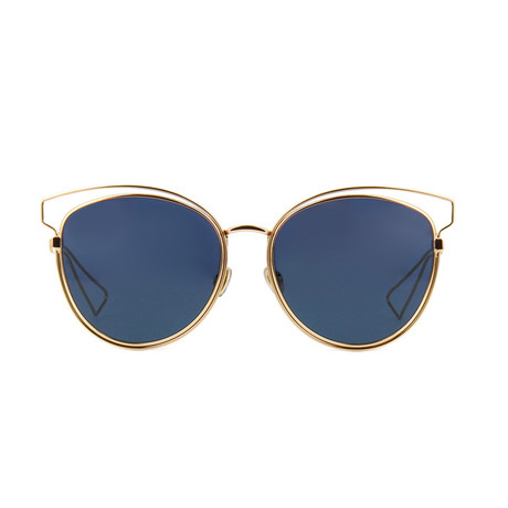 Dior // Men's Dior Sideral2 Sunglasses // Gold + Gray