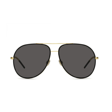 Dior // Diorastral Sunglasses // Burgundy Rose Gold + Gray