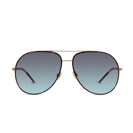 Dior // Men's Diorastral Sunglasses // Black Gold + Gray