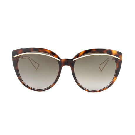 Dior // Men's Diorliner Sunglasses // Havana + Brown Gradient