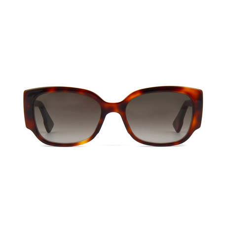 Dior // Men's Diornight2 Sunglasses // Havana + Gray Gradient
