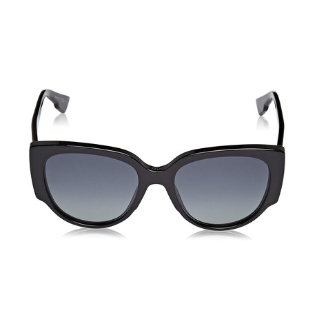 Dior // Diornight1 Sunglasses // Black + Gray