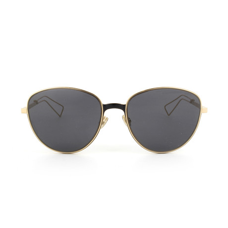 Dior // Men's Ultradior Sunglasses // Matte Gold + Gray