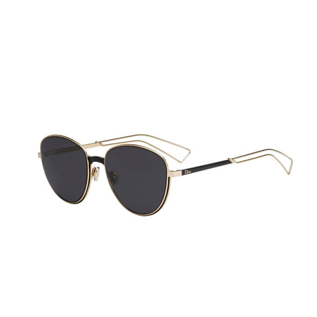 Ultradior Sunglasses // Matte Gold + Gray