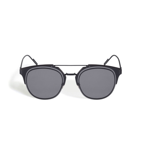 Dior DIORCOMPOSIT1.0 Sunglasses // Gunmetal + Gray