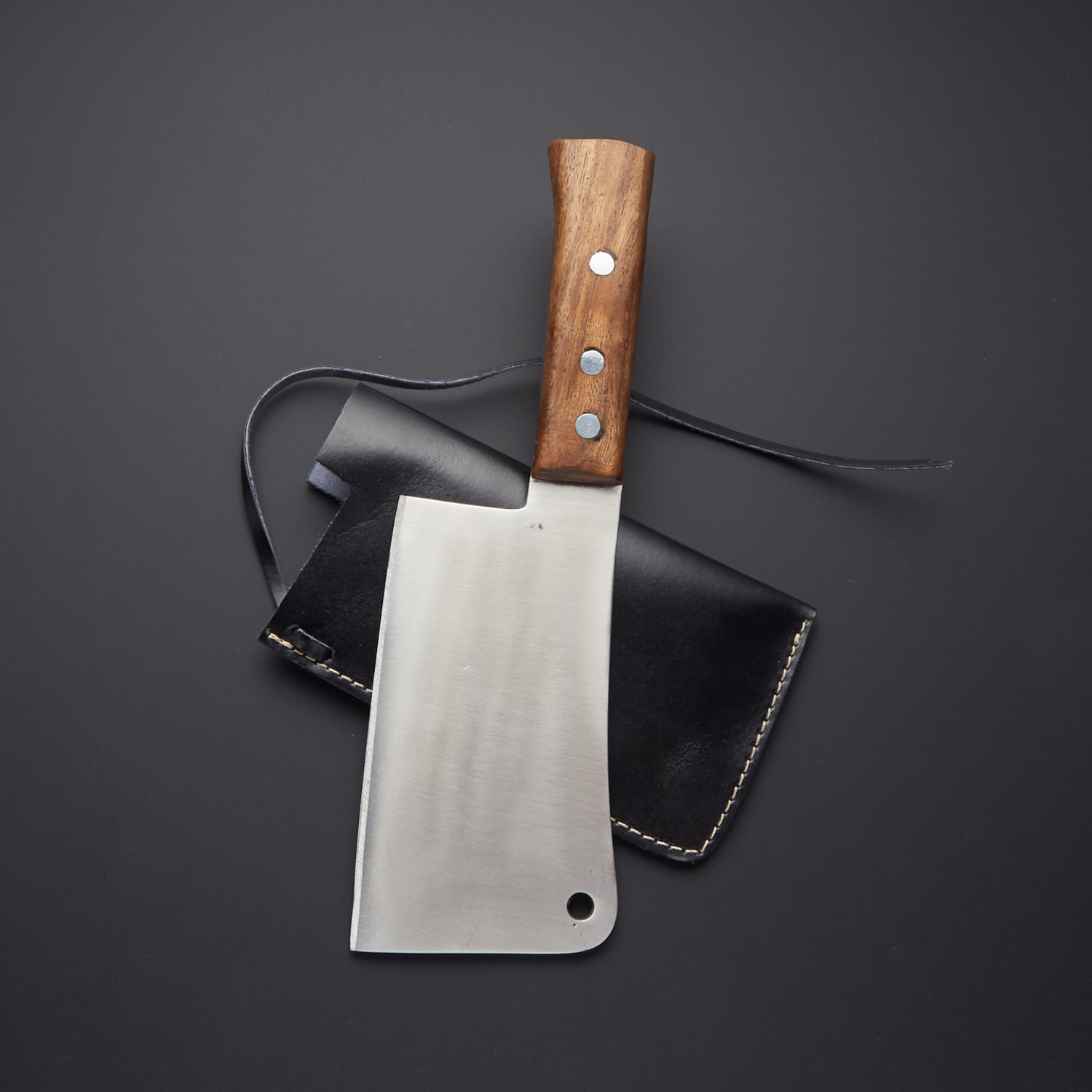 440c Stainless Steel Chef Cleaver The Blade Point