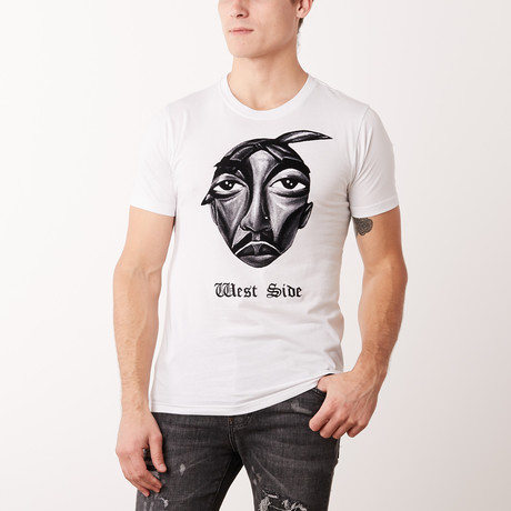 West Side T-Shirt // White (M)